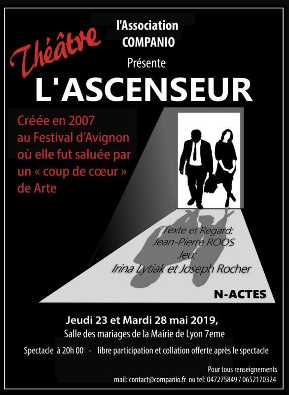 L ascenseur theatre companio